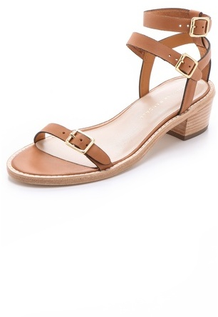 Loeffler Randall Heddie Stacked Sandals