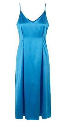 Samsoe & Samsoe Leanna Dress Azure - XS
