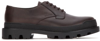 Prada Modernista Mountain Lace Up Shoes