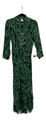 Rixo Green Silk Dresses