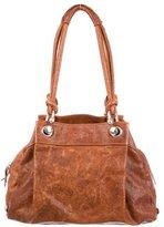 Jil Sander Distressed Shoulder Bag