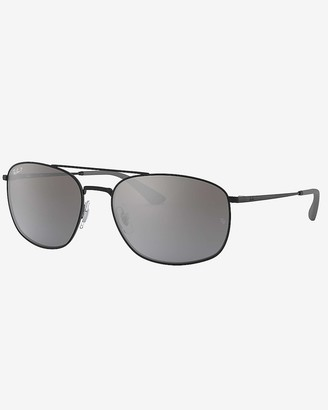 Express Ray-Ban Gradient Round Sunglasses