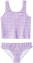 Joe Fresh Kid Girls' Tankini Swimsuit, Purple (Size XL)