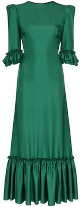 The Vampire's Wife Festival pouf-sleeve maxi dress