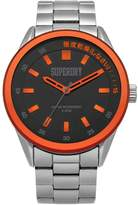 Superdry Men's Quartz Metal and Stainless Steel Casual Watch, Color:Silver-Toned (Model: SYG207BSM)