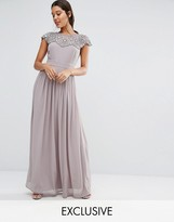 TFNC WEDDING Embellished Maxi Dress