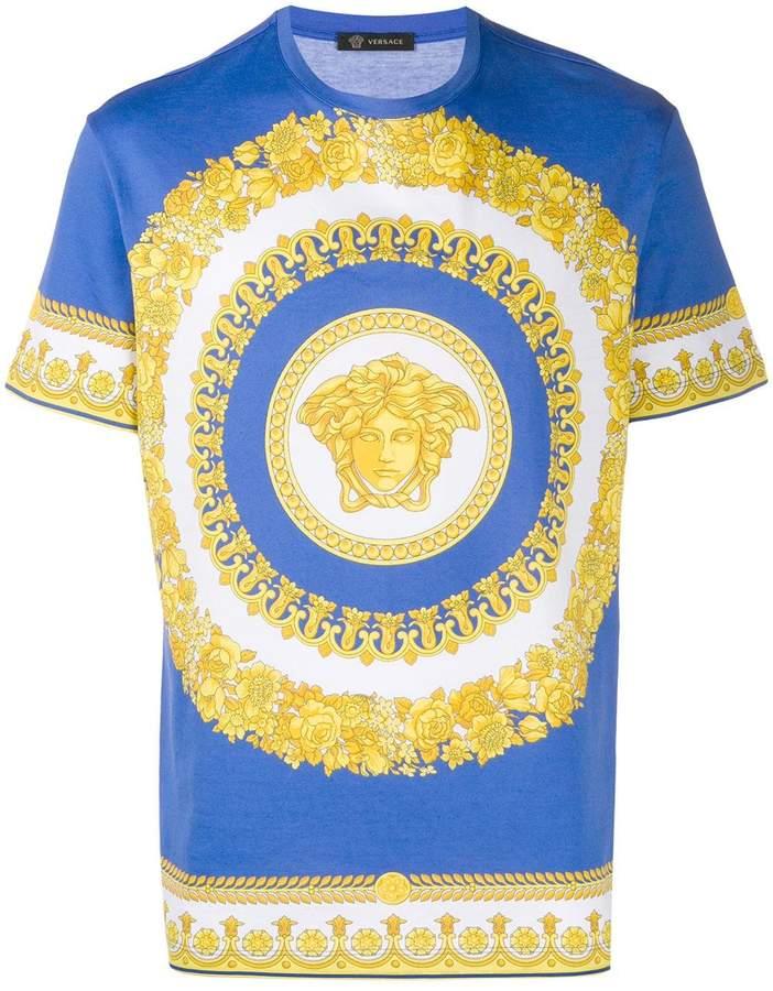 1e71e640ed barocco print T-shirt