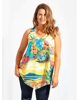 Koko Floral Water Print Vest