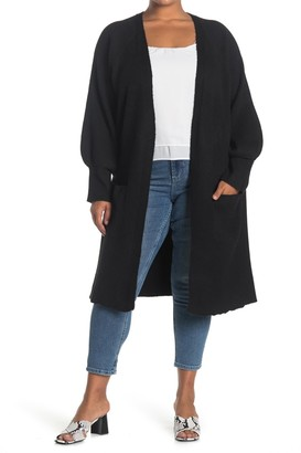 Sweet Romeo Open Front Duster Cardigan
