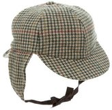 Barbour Woven Houndstooth Hat