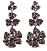Amrita Singh Crystal Tiered Earrings.