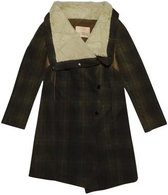 Karl Donoghue Multicolour Cotton Coat for Women