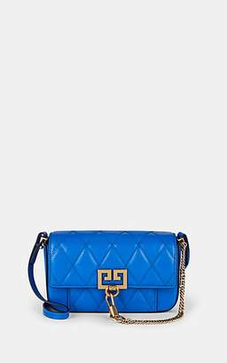 Givenchy Women's Pocket Mini Leather Crossbody Bag - Persian Blue