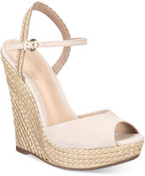 Aldo Women's Shizuko Ankle-Strap Wedge Sandals Women's Shoes