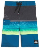 Quiksilver Toddler Boy's Slab Logo Board Shorts
