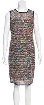 Akris Punto Printed Mesh Dress