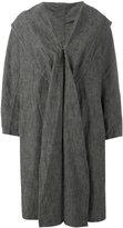 Y's shawl lapel loose-fit coat