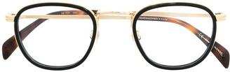 David Beckham Round-Frame Glasses