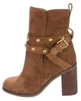See by Chloe Suede Embellished Ankle Boots w/ Tags