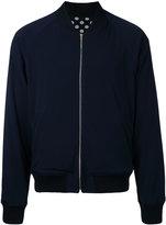 soe reversible bomber jacket - men - Polyester/Triacetate - One Size
