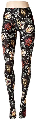 Wolford Jungle Print Tights (Floral Cheetah) Hose
