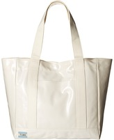 Toms Shiny Coated Canvas Tote
