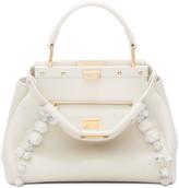 Fendi Off-White Mini Peekaboo Bag