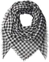 Collection XIIX Gingham Square Scarves