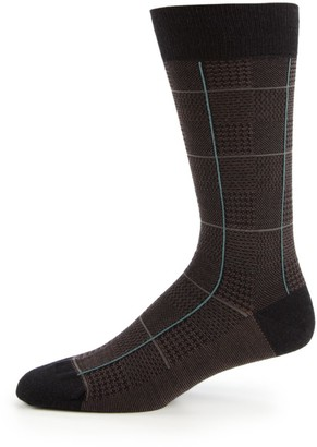 Pantherella Strachey Plaid Socks