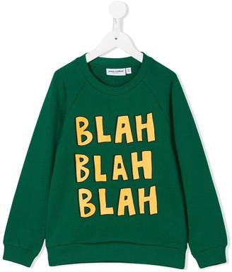 Mini Rodini Blah Print Sweatshirt