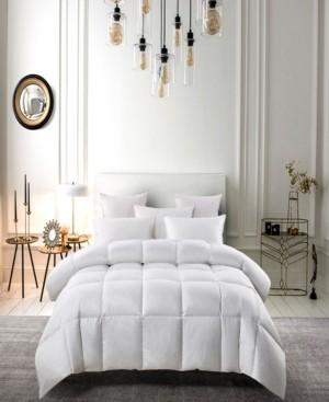 Serta Light Warm White Down Fiber Comforter Twin