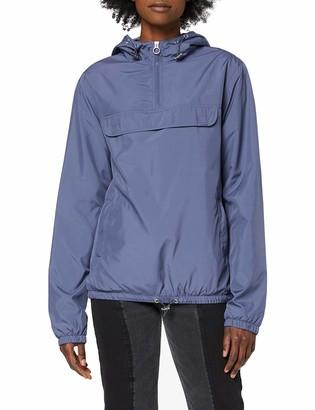 Urban Classics Women's Windbreaker Ladies Basic Pull Over Jacket Wind-jacke