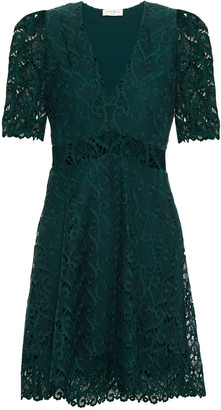 Sandro Guipure Lace Mini Dress