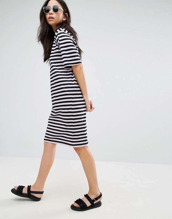 Cheap Monday Stripe Smash T-Shirt Dress