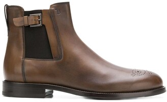 Tod's Buckle Detail Chelsea Boots