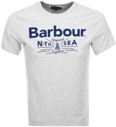 Barbour Cove T Shirt Grey