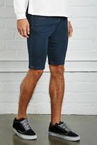 Forever 21 FOREVER 21+ Dark Wash Denim Shorts