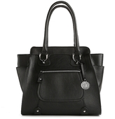 London Fog Knightsbridge Zip Pocket Tote