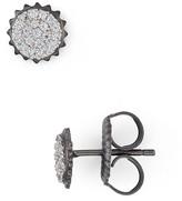Freida Rothman Round Pavé Stud Earrings