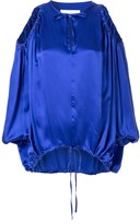 Marques Almeida Oversized Cut-Out Blouse