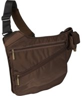 Kalencom Urban Sling Diaper Bag in Chocolate Brown