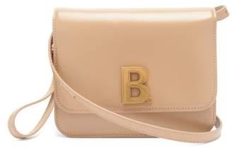 Balenciaga B. Small Leather Cross-body Bag - Womens - Beige
