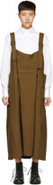 Y's Ys Brown Long Chino Dress