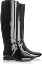 Bottega Veneta Glossy leather boots