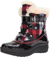 AK Anne Klein Sport Women's Gallup Fabric Snow Shoe, 6 M US