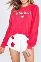 Wildfox Couture Attached Sweatshirt