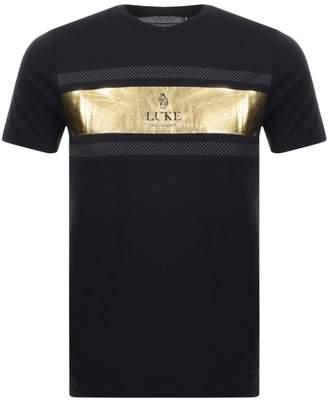 Luke 1977 9 Carat Logo T Shirt Black