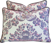 One Kings Lane Vintage Italian Fortuny Vivaldi Pillows, Pair