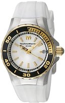 Technomarine Women's TM-215057 Sea Manta Analog Display Swiss Quartz White Watch