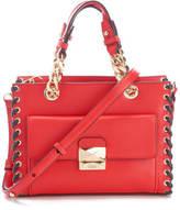 Karl Lagerfeld Women's K/Whipstitch Mini Tote Bag Scarlet